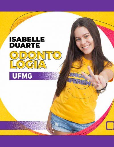 2020 -Isabelle Versiani Duarte - ODONTOLOGIA -UFMG