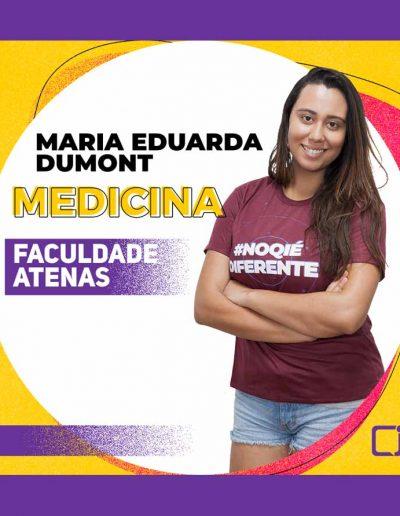 2020-MARIA EDUARDA DUMONT-MEDICINA-FACULDADE ATENAS - SETE LAGOAS